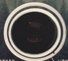 vintage forest camera  Sticker