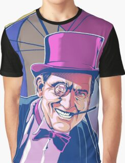 Burgess Meredith Penguin Graphic T-Shirt