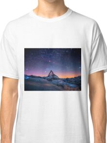 Montain Galaxy Classic T-Shirt