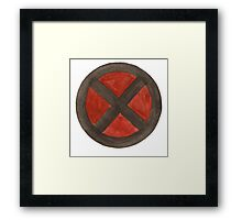 X-Men (Black) Framed Print