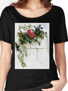 Vintage Floral Spray Women's Relaxed Fit T-Shirt