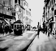 saturday afternoon in the city by Denny Stoekenbroek