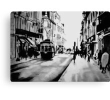 saturday afternoon in the city Canvas Print