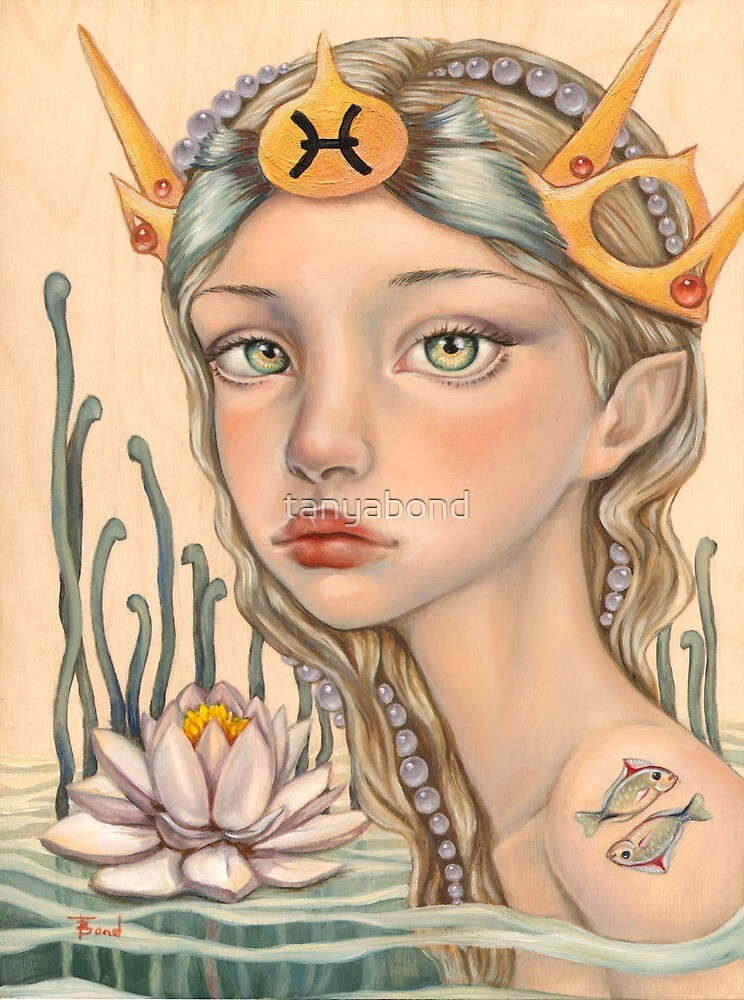 Pisces Girl by tanyabond