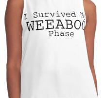I Survived Being a Weeb Contrast Tank