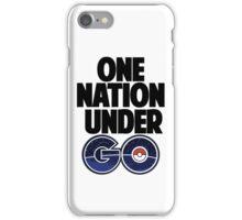 One Nation Under Go  iPhone Case/Skin