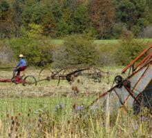 Farming the land Sticker