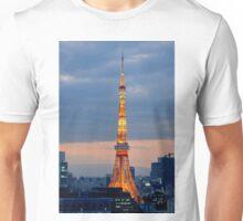Tokyo Tower at dusk - Japan Unisex T-Shirt