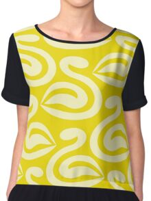 cygnets - seamless pattern Chiffon Top