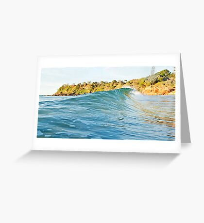 Coolum Beach love Greeting Card
