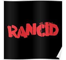 Rancid Logo Poster