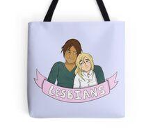 Yumikuri in Lesbians Tote Bag