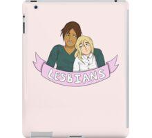 Yumikuri in Lesbians iPad Case/Skin