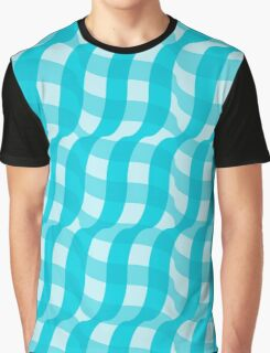 3d illusion tablecloth pattern Graphic T-Shirt