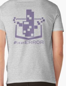 TEAM ERROR Mens V-Neck T-Shirt