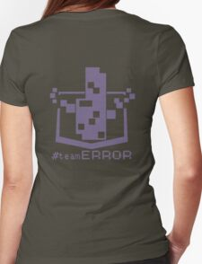 TEAM ERROR Womens Fitted T-Shirt