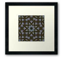 Stars and Pipes Framed Print