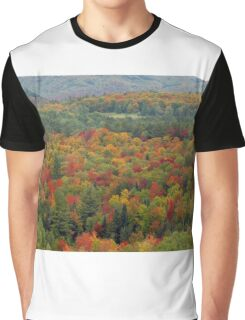 Fall landscape Graphic T-Shirt