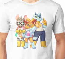 Bubsy Reboot - Bubsy, Oblivia and Virgil Unisex T-Shirt
