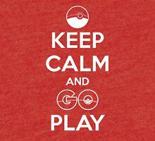 Keep calm and GO play! Tri-blend T-Shirt