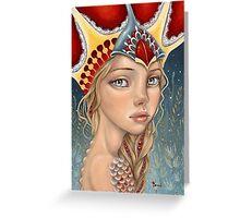 Regina del Mare Greeting Card