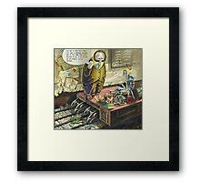 Profound Lessons Framed Print
