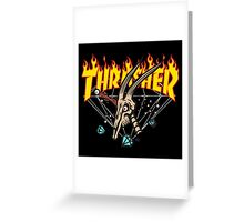 Thrasher Diamond Greeting Card