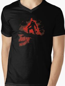 Jungle Hunter Predator Mens V-Neck T-Shirt