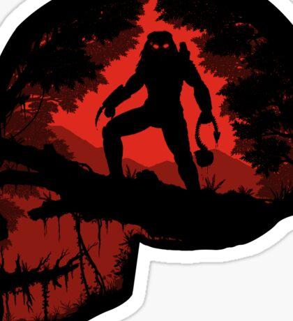 Jungle Hunter Predator Sticker
