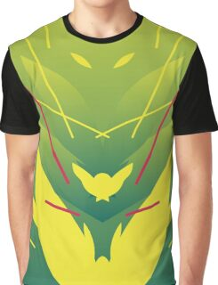 Brazil Abstract Graphic T-Shirt