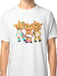 Bubsy Reboot - The Three Little Kittens Classic T-Shirt