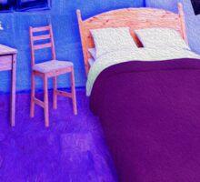 Cold Neo Bedroom in Arles Sticker