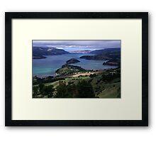 Akaroa Harbor Framed Print