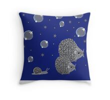 midnight adventure Throw Pillow