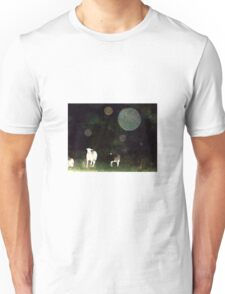 Some Folks Think That These Orbs Are Not There Unisex T-Shirt