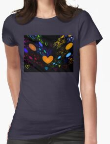 Beating Hearts Womens Fitted T-Shirt