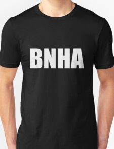BNHA (White Text) Unisex T-Shirt