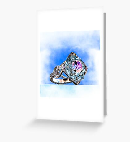 Unique Ring Greeting Card
