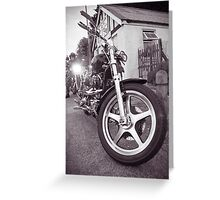 God's Harley Greeting Card