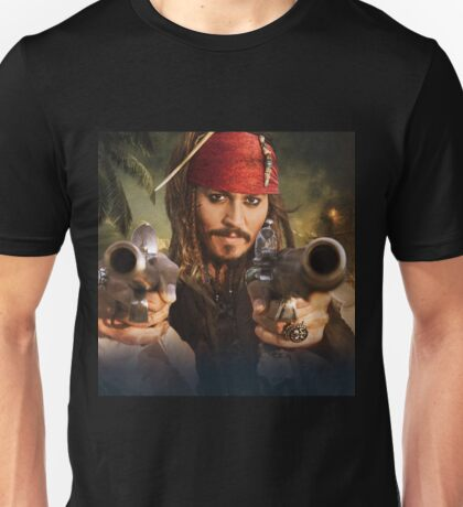 Johnny Depp Pirate Unisex T-Shirt