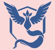 Pokemon Go Team Mystic Logo Kids Tee