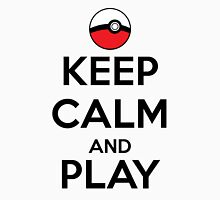 Keep calm and play!! Color Unisex T-Shirt