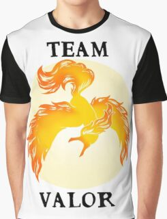 Team Valor Logo Colour 1 Graphic T-Shirt