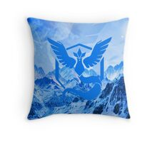 Pokemon GO - Team Mystic Throw Pillow