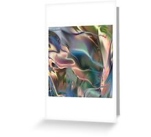 Neon Marble Greeting Card