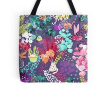 Indoor Plants Cat Garden Tote Bag