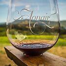 Aonair Wine Glass by Randy Turnbow