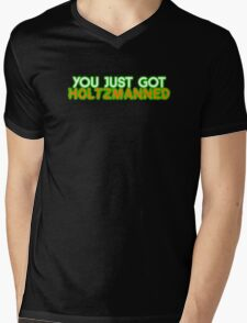 Holtzmanned  Mens V-Neck T-Shirt