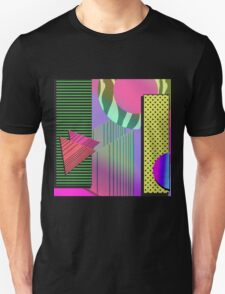 Just Can't Get Enough Eighties Retro Patterns Unisex T-Shirt