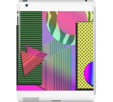 Just Can't Get Enough Eighties Retro Patterns iPad Case/Skin